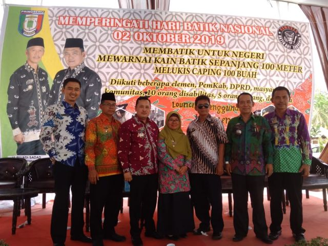 Acara Peringatan Hari batik Nasional Kabupaten pringsewu