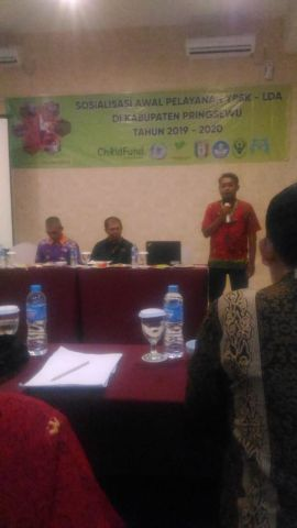 Sosialisasi awal pelayanan YPSK - LDA Kabupaten Pringsewu