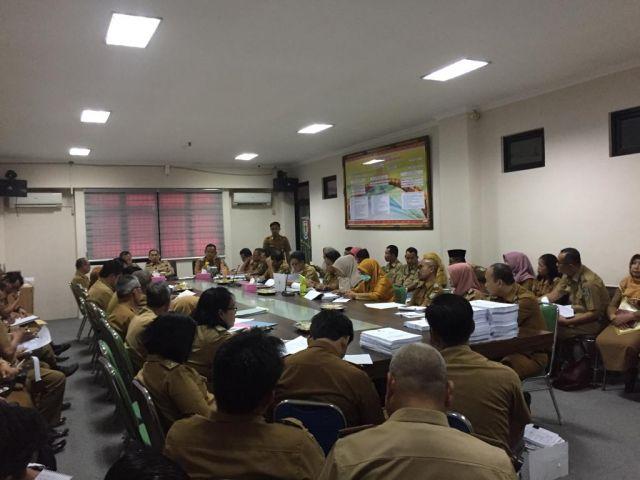 Rapat PAD dilanjutkan Pembahasan RKA di Pemkab Pringsewu