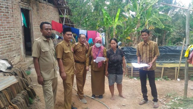 Monev STBM Pekon Pamenang Kecamatan pagelaran