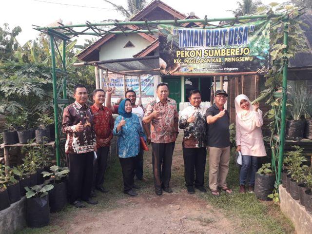 Monitoring dan Evaluasi Persiapan Lomba Kesrak oleh Assisten I Kabupaten Pringsewu