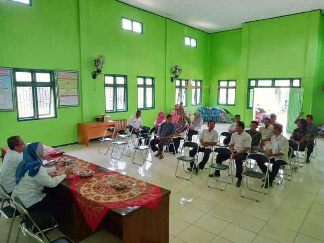 Monev STBM atau gebrak ODF di Pekon Gumukrejo Kecamatan Pagelaran