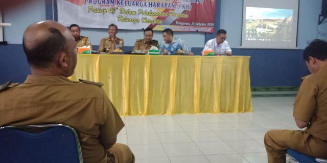 Rapat Koordinasi Program Keluarga harapan PKH Kabupaten Pringsewu