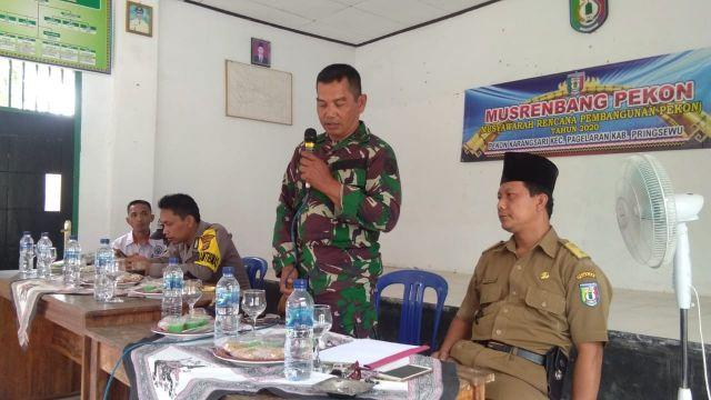 Acara Musrembang Pekon Karangsari Kecamatan pagelaran