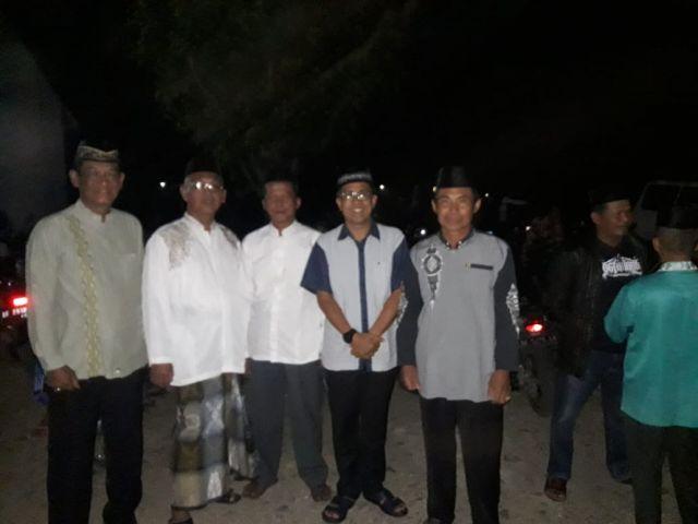 Camat Pagelaran turut serta pada acara Ziarah di makam KH.Khalib dalam menyambut Hari santri