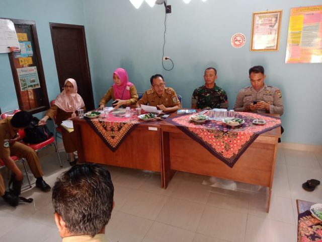 Monev STBM atau Gebrak ODF Pekon Ganjaran Kecamatan Pagelaran