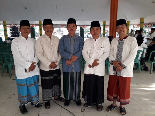 Upacara hari Santri nasional  di Pendopo Kabupaten pringsewu