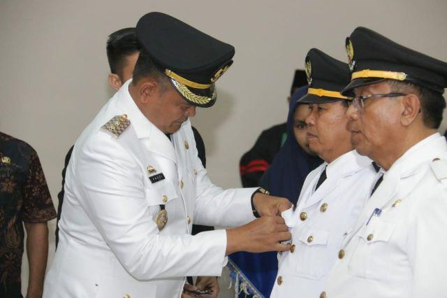 Pelantikan Pejabat Administrator dan Fungsional dilingkungan Pemerintah Kabupaten Pringsewu