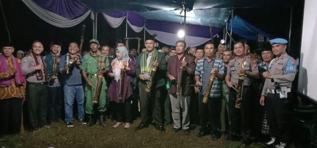 Launching 1 Rumah 1 Kentongan di Pekon Way Ngison Kecamatan pagelaran