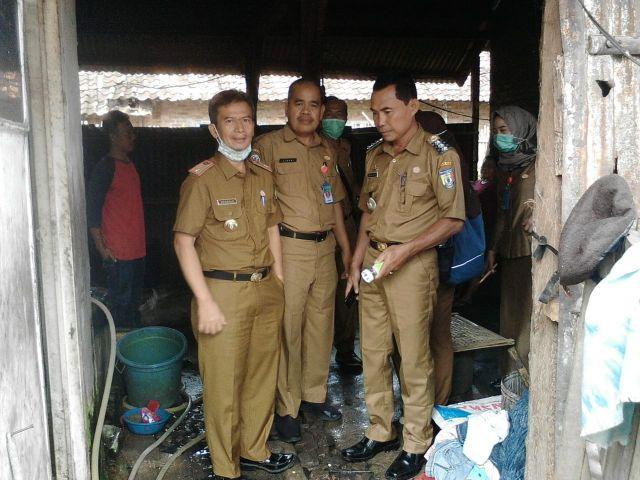 Geber PSN / Pemberantasan sarang nyamuk di Pekon Patoman Kecamatan pagelaran