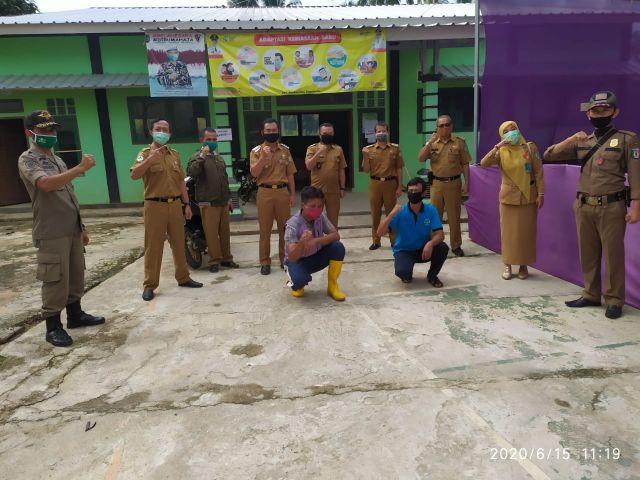 Monitoring Tim Gugus Tugas Kecamatan Pagelaran