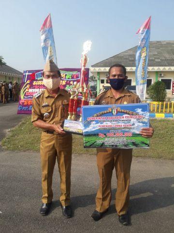 Pekon Bumiratu dan Sumberejo raih juara pada lomba tingkat kabupaten