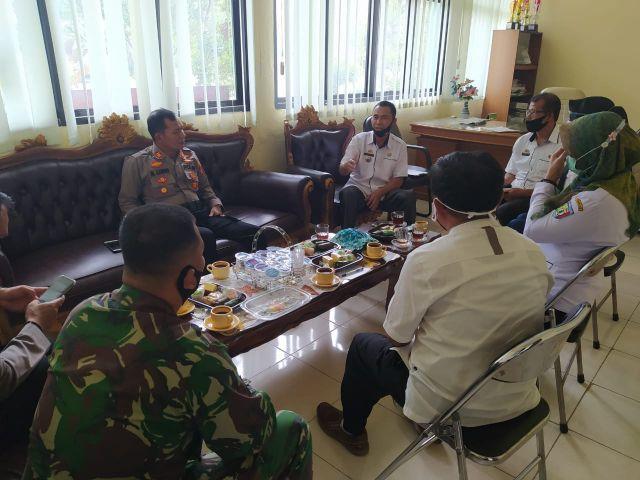 Rapat Koordinasi Gugus Tugas Kecamatan Pagelaran